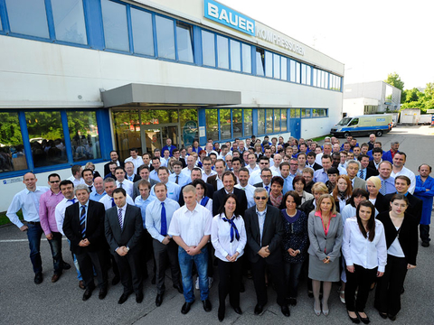 The team at BAUER KOMPRESSOREN GmbH