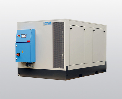 Compressor unit G 25.x / G 28.x for helium and argon, Super-Silent