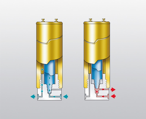 Schematic diagram of the safety vent